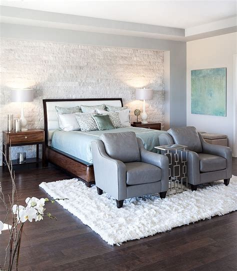 stone accent wall bedroom 25 bedrooms that celebrate the textural brilliance of