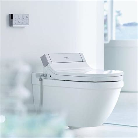 Duravit Bidet Toilet shower toilet seat sensowash starck collection from duravit