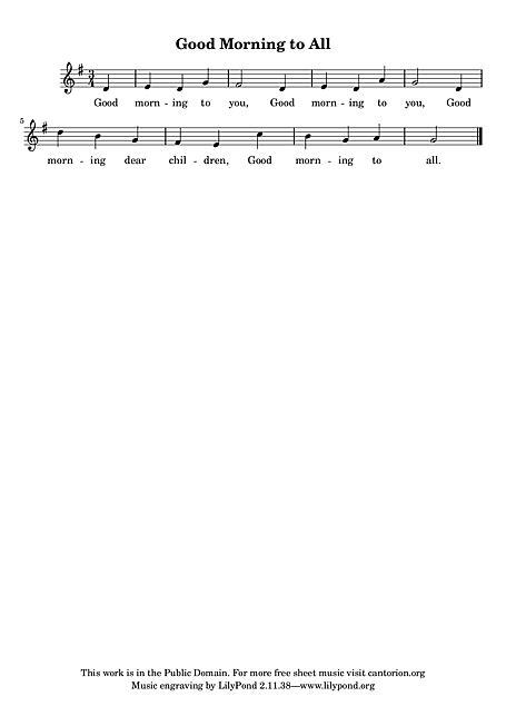 Parabéns a Você (Happy Birthday Song) Voz - Partituras