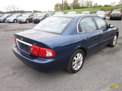 Kia Optima 2005 Imperial Blue 2005 Kia Optima Lx V6 Exterior Photo