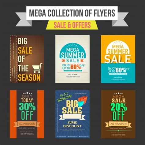 discount flyer template sale and discount offers flyers templates or banners