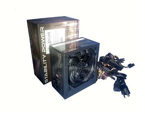 computer power supply fan shark 650w black silent 120mm fan atx 4 8 pin 12v 6 8 pin