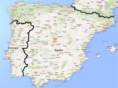 iberian peninsula on map 2018 portugal spain escorted golf tour golf