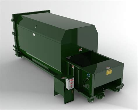 how does a commercial trash compactor work 20 yard self contained compactors