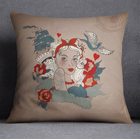 tattoo bedding rockabilly pinup tattoo style duvet bedding sets ink and