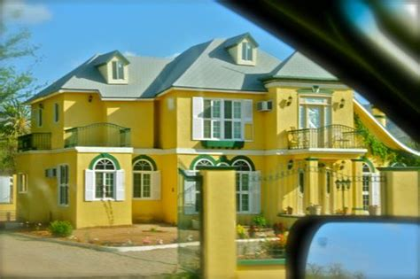 house design color yellow photo of the day yellow mansion in mexico