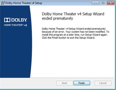 dolby advanced audio problem  windows  acer community