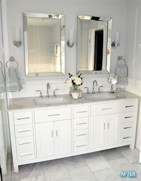 bathroom vanity mirrors ideas 25 best ideas about bathroom double vanity on pinterest