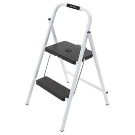 easy reach by gorilla ladders 2 step steel mini
