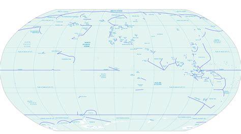 map  oceans world map