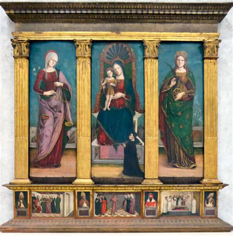 santa consolatrice churches of venice verona