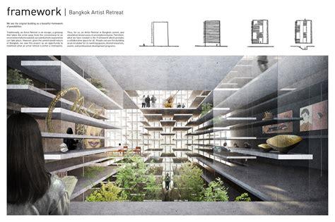 design competition uk bangkok artists retreat design competition e architect