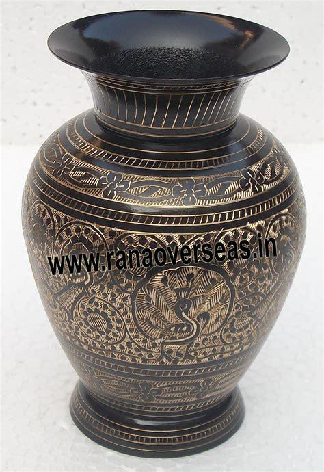 Brass Flower Vases by Rana Overseas Manufacturer Supplier And Exporter Brass