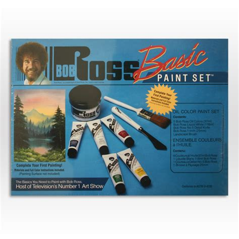 bob ross painting set bob ross basic paint set ken bromley supplies