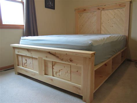 ana white northern wisconsin white pine bed  dresser