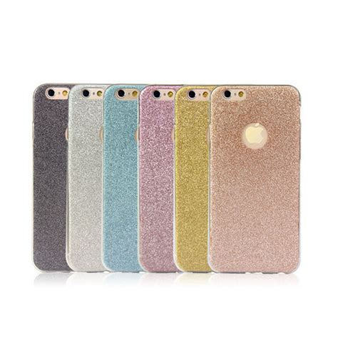 Soft Thin Glitter Bling For Iphone 6 Plus 6 T0310 ultra thin glitter bling cover coque for apple iphone 6 6s