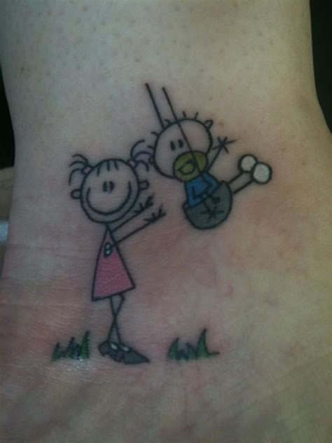 small brother and sister tattoos 19 best images about and tats on