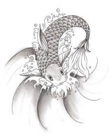 Koi fish tattoo designs black and white 1 koi tattoo design art male