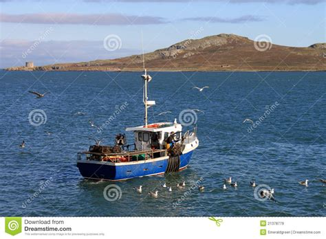 boat license dublin small fishing boat howth stock image image of ireland