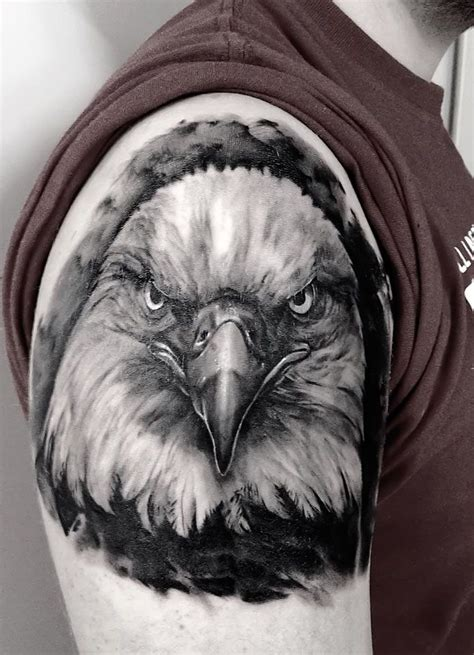 bald eagle tattoo 1000 ideas about eagle tattoos on tattoos