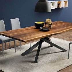tisch designer table design en bois pechino midj 174 4 pieds tables