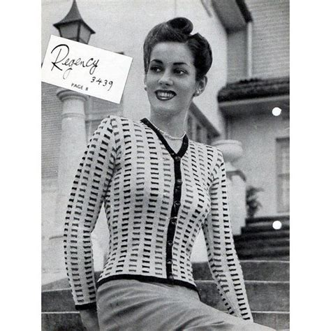 1940s knitting patterns vintage knitting patterns 1940s crochet and knit