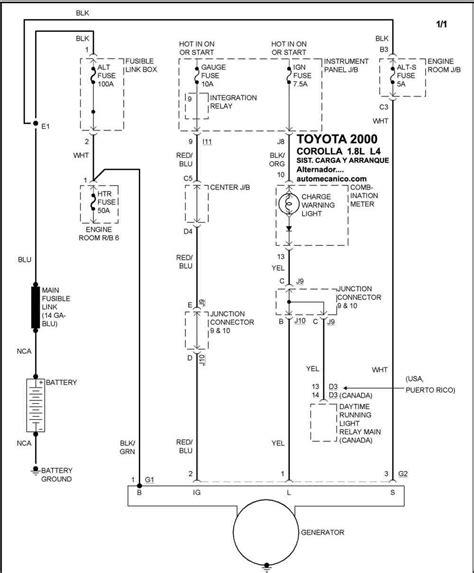 Diagrama Electrico Toyota Echo 2000