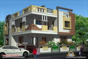 duplex house plan and elevation 2878 sq ft love this
