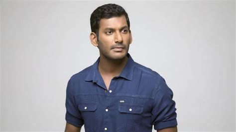 actor vishal life tamil film producers council president vishal detained