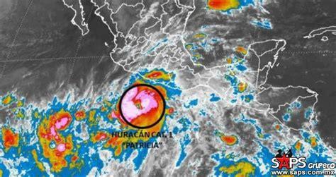 imagenes o videos del huracan patricia hurac 225 n patricia m 225 s cerca de tocar tierra en m 233 xico