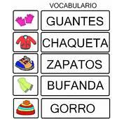 Tarjetas Para Trabajar Vocabulario  Rinc&243n De Infantil