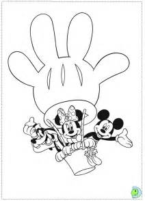 cartoon printable mickey mouse clubhouse coloring pages coloring tone