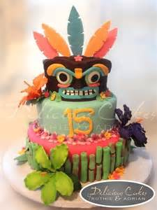 hawaiian luau cake by deliciouscakes cakesdecor