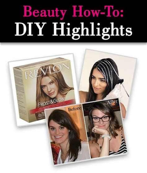 best highlight kits for brunettes beauty how to diy highlights