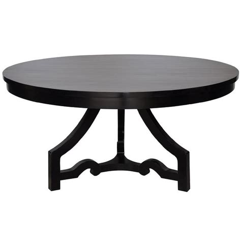 distressed black dining table noir 3 leg dining table distressed black
