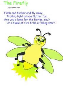 firefly poem evaleen stein summer activities kids