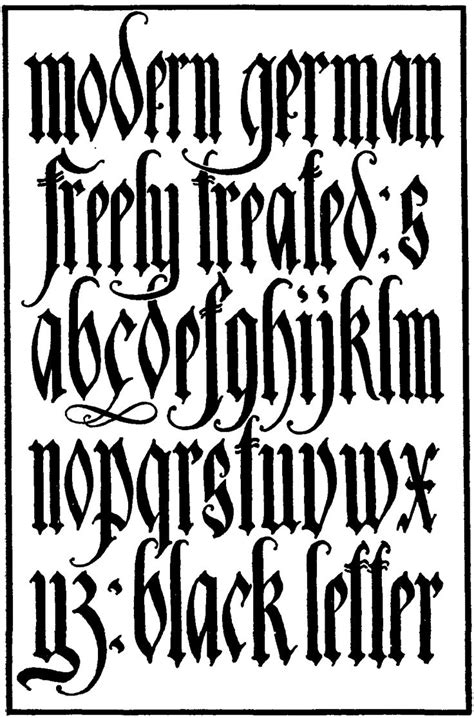 tattoo fonts gothic best 25 german font ideas on fonts