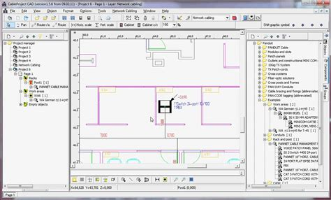 Rack Drawing Software by Cableproject Cad Getting A Rack Design Drawing