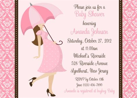 Baby Shower Invitations Wording by Baby Shower Invitation Wording Baby Shower Invitation