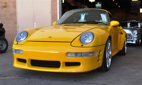 ruf porsche 911 1997 ruf porsche 911 turbo r yellowbird