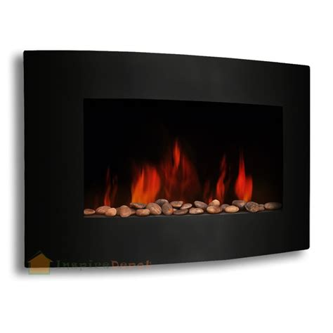 in wall electric fireplace heater xl large 35 quot x22 quot 1500w adjustable heater electric wall
