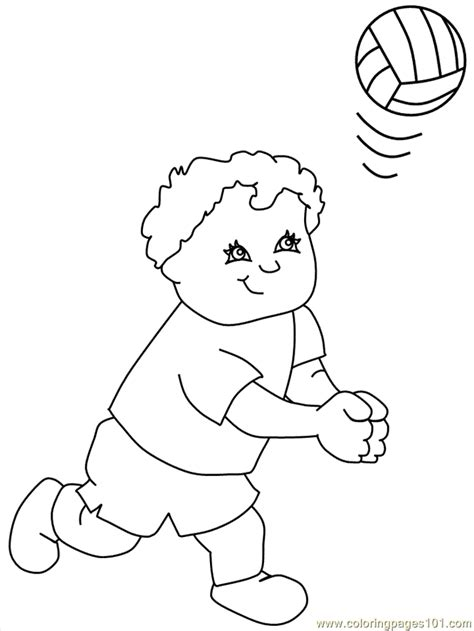 printable volleyball bookmarks coloring pages volleyball7 sports gt volleyball free