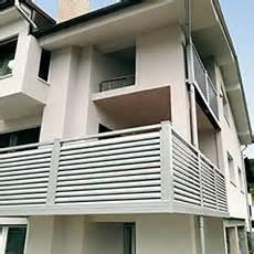 ringhiere per terrazzi prezzi ringhiere in alluminio per esterni ed interni alba srl