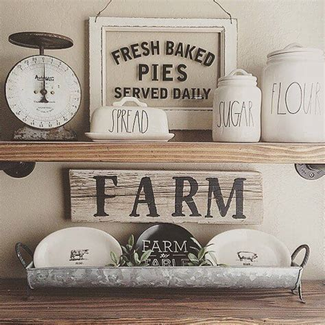 country kitchen wall decor ideas 38 best farmhouse kitchen decor and design ideas for 2018