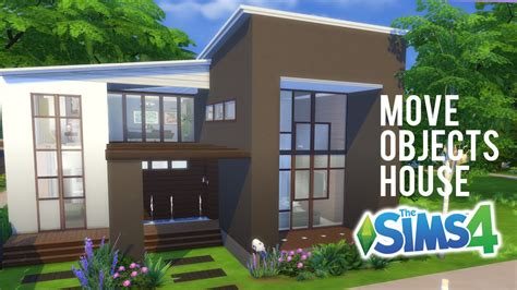 the sims house building modern abode speed build youtube idolza the sims 4 speed build move objects family home