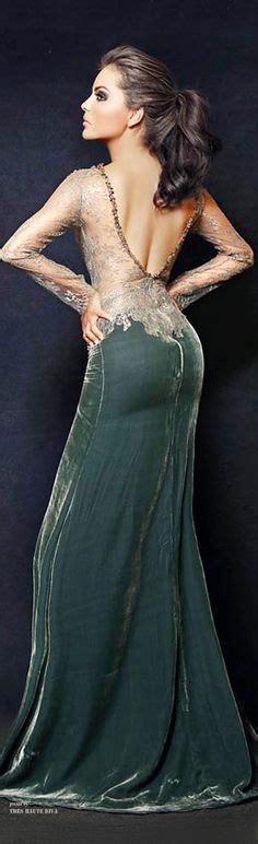 cocktail jurken green dresses i love on pinterest evening gowns open backs