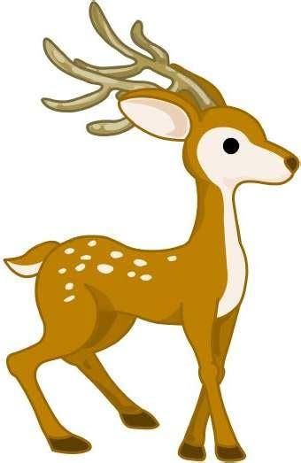 clip deer deer clipart clipart panda free clipart images