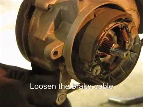 Bearing Mio Sporty How To Change Brakeshoes Drumbrake