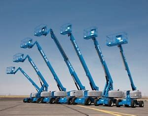 Genie S Series Telescopic Boom Lift Hoist Workshop Service