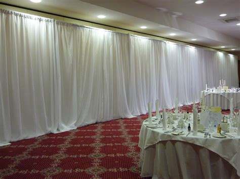 wedding wall draping i want white wall draping like this so hard to find